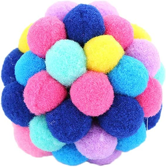 Bell Toys Ranking TOP9 Bouncy Ball safety for Cats Pounc Balls Colorful Plastic