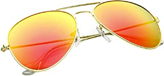 983a41ee8 4sold UNISEX MENS WOMENS 70's Designer Style Unisex Silver Mirror Sunglasses  - UV400 Protection - One