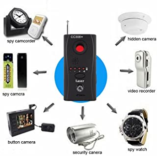 Kaboll High Performance Anti-spy Signal Bug Rf Detector Hidden Spy Camera Detector Wired Both Compatible Wiretapping Voyeur Prevention Crime Prevention Goods GSM Device Finder