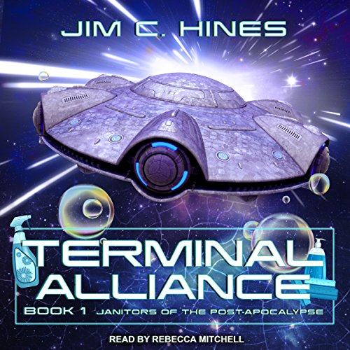 Terminal Alliance by Jim C. Hines science fiction and fantasy book and audiobook reviews