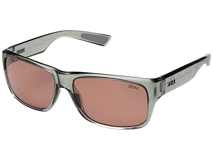 Zeal Optics  Fowler (Glacier/Polarized Rose Lens) Athletic Performance Sport Sunglasses