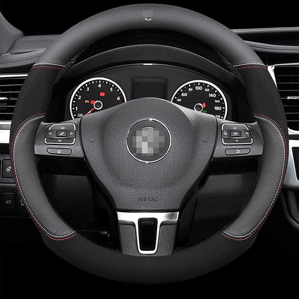 ASHDelk Car Steering Wheel Max 60% OFF Cover for 5 ☆ popular Volksw Interior Accessories