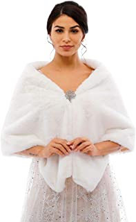 Best bridal fur wraps and shawls Reviews