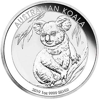 Moneda de plata australiana de Koala 2019, 1 onza, moneda de plata