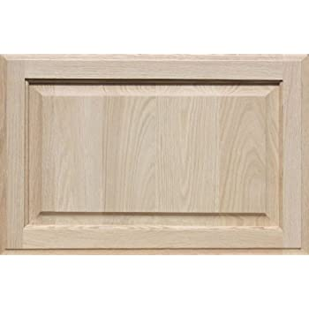 Kendor Unfinished MDF Cabinet Door Square with Raised Panel 15H x 22W