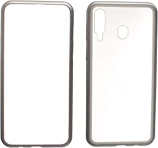 Magnatic Back Cover For Mobile Phone Samsung Galaxy M30 - Silver
