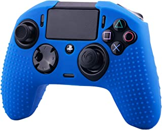YoRHa Studded Dots Silicone Rubber Gel Customizing Cover for NACON Revolution PRO PS4 controller [Origin & V2] x 1(Blue)