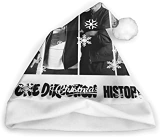One Direction Christmas Santa Hat Fashion Xmas Holiday Hat Santa Costume for Adults Kids Festival Party