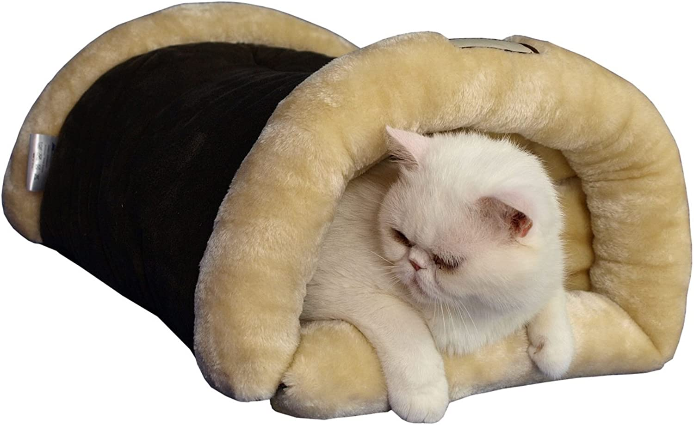 Armarkat Cat Bed C16HKF MH Mocha and Beige