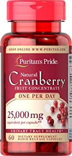 Puritan's Pride One A Day Cranberry 500 mg, 60ct