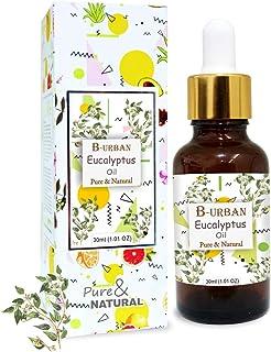B-URBAN Eucalyptus OIl 100% Natural Pure Undiluted Uncut Essential Oil (Eucalyptus, 30ml)