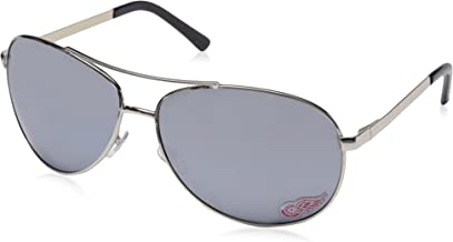 NHL Detroit Red Wings Aviator Sunglasses
