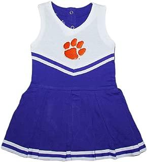 Clemson University Tigers Baby and Toddler Cheerleader Bodysuit Dress