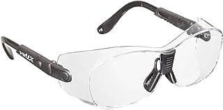 والت شیشه های ایمنی یکپارچه با ولتاژ voltX - مناسب به عنوان برازنده برای قاب های تماشایی کوچک / متوسط - همچنین می تواند به عنوان عینک ایمنی منظم پوشیده شود. گواهی CE EN166ft (لنز پاک)