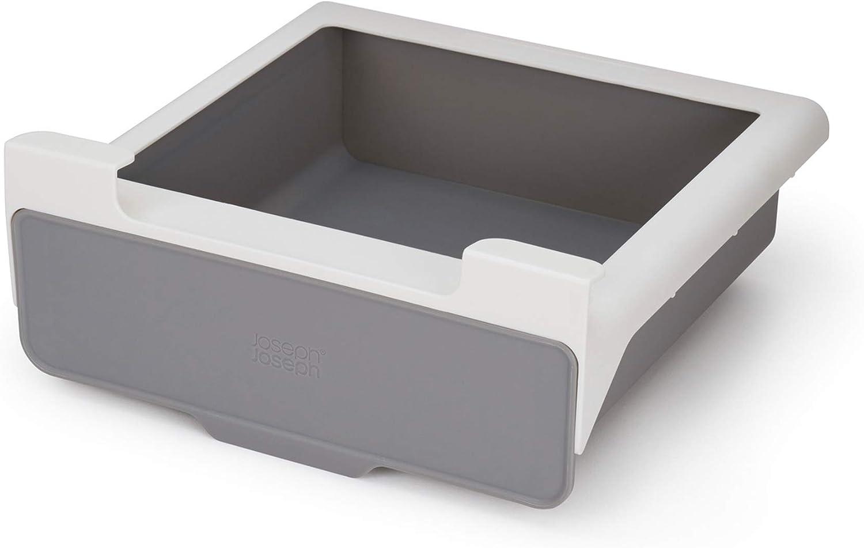 Joseph Joseph CupboardStore Under-Shelf Pull Out Drawer Storage Organizer for Cabinet, Gray