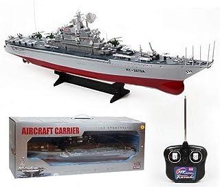 360 ZGYQGOO RC Boat 2.4GHZ Super-Large RC Cruiser Warship Military Model Battleship Electric Ship Model Child Boy Toy Remote Control Ship HT-3827B 1