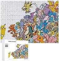 500/1000の木のパズル ポケットモンスター パズル ポケットモンスター ポケモンパズル ストレスを解消する ゲーム盤 子供のパズル 大人のパズル