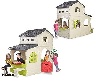 Feber Super Villa House Playhouse, Multi-Colour, 800012190