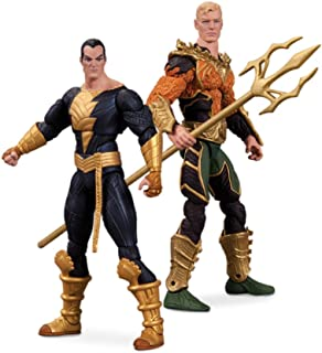 DC Collectibles Injustice Aquaman vs. Black Adam Action Figure, 2-Pack