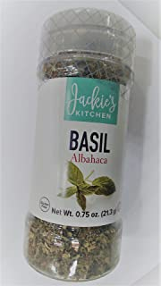 Jackie's Kitchen Basil, 0.75 Ounce