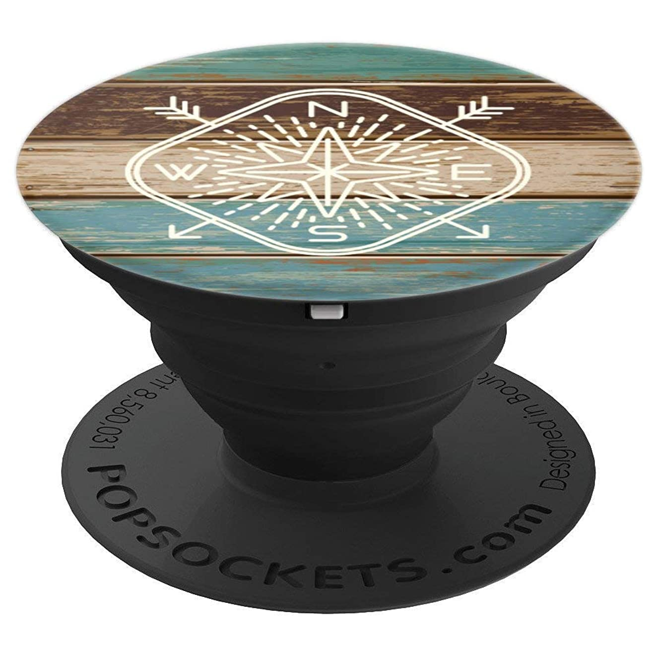 Adventure Compass Pattern - PopSockets Grip and Stand for Phones and Tablets xzjkcplojg8665