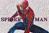 EXking Rompecabezas de araña de cómic Abstracto para niños y Adultos, Grandes Pinturas intelectuales educativas, Juego de Rompecabezas, Juguetes, Regalo para Juegos, decoración de la Pared del hogar