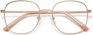 SOJOS Designer Women Blue Light Blocking Glasses Stylish Flat Eyewear SJ1137