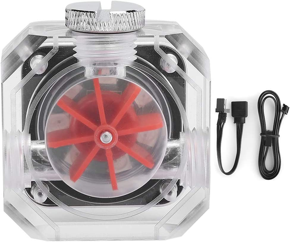 YYOYY G1 4 Flowmeter Square Split Water-Cooling All stores Rapid rise are sold System Transpare
