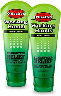 O'Keeffe's Working Hands Tube Twin Pack, 85 g