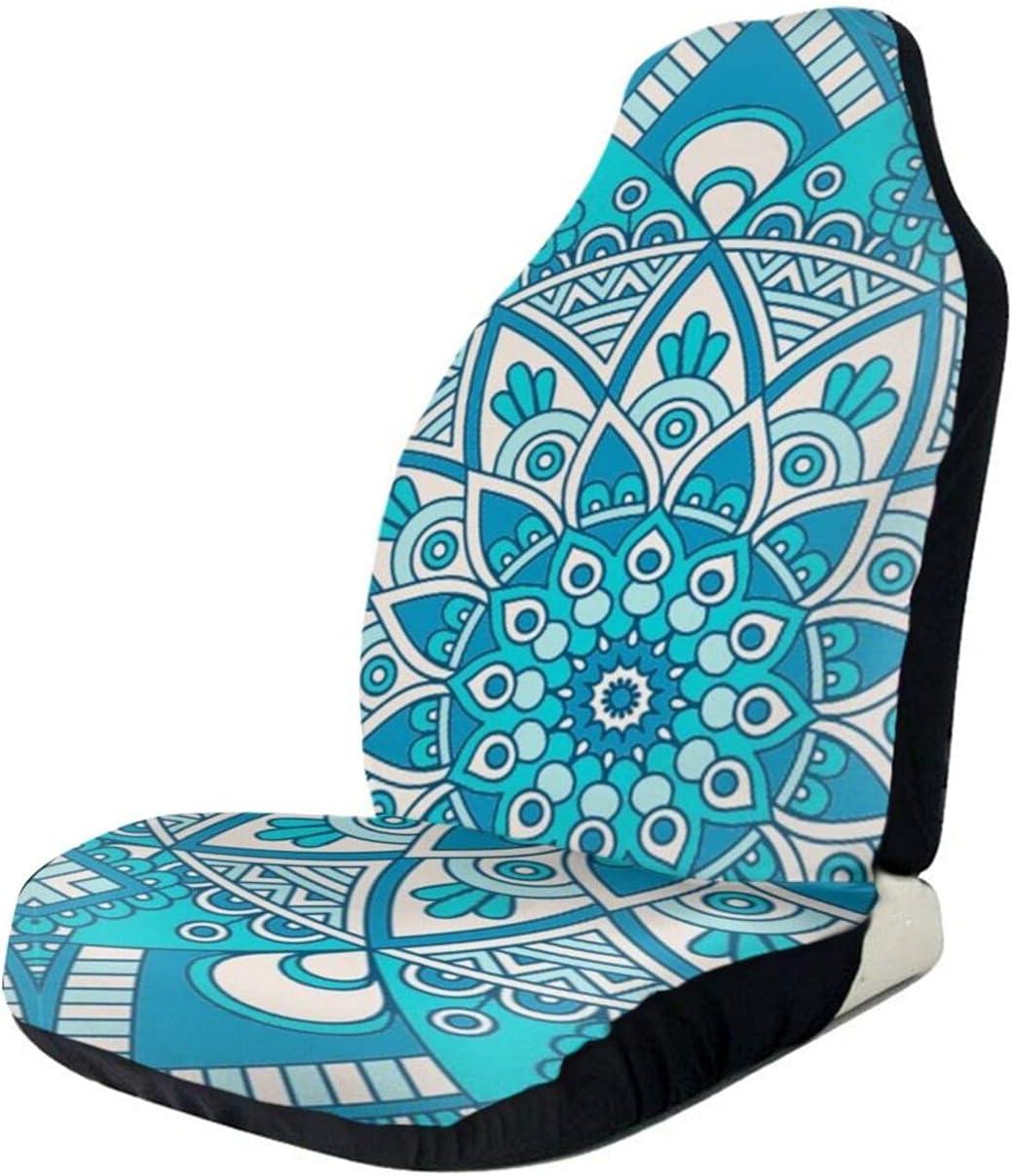 NGLKJUS Vintage Mandala Flowers Car Front Ranking TOP11 online shop Seat Se Covers Printed
