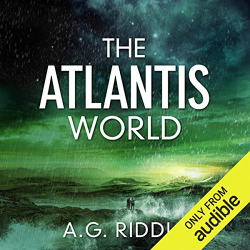 The Atlantis World audiobook cover art