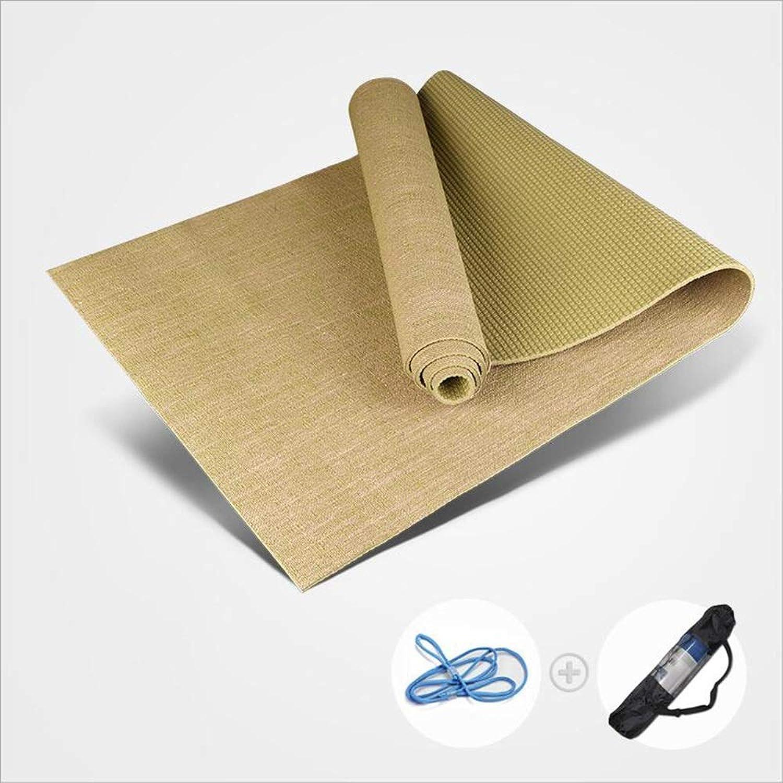 FUS Sport Sports Mat, PVC NonSlip MultiPurpose Fitness Mat Yoga, Pilates, Situps, Home, Gym, 173cm61cm0.5cm