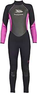 Aquaria Womens Neoprene Black Full Length Surf Swim Diving 5mm Wetsuit