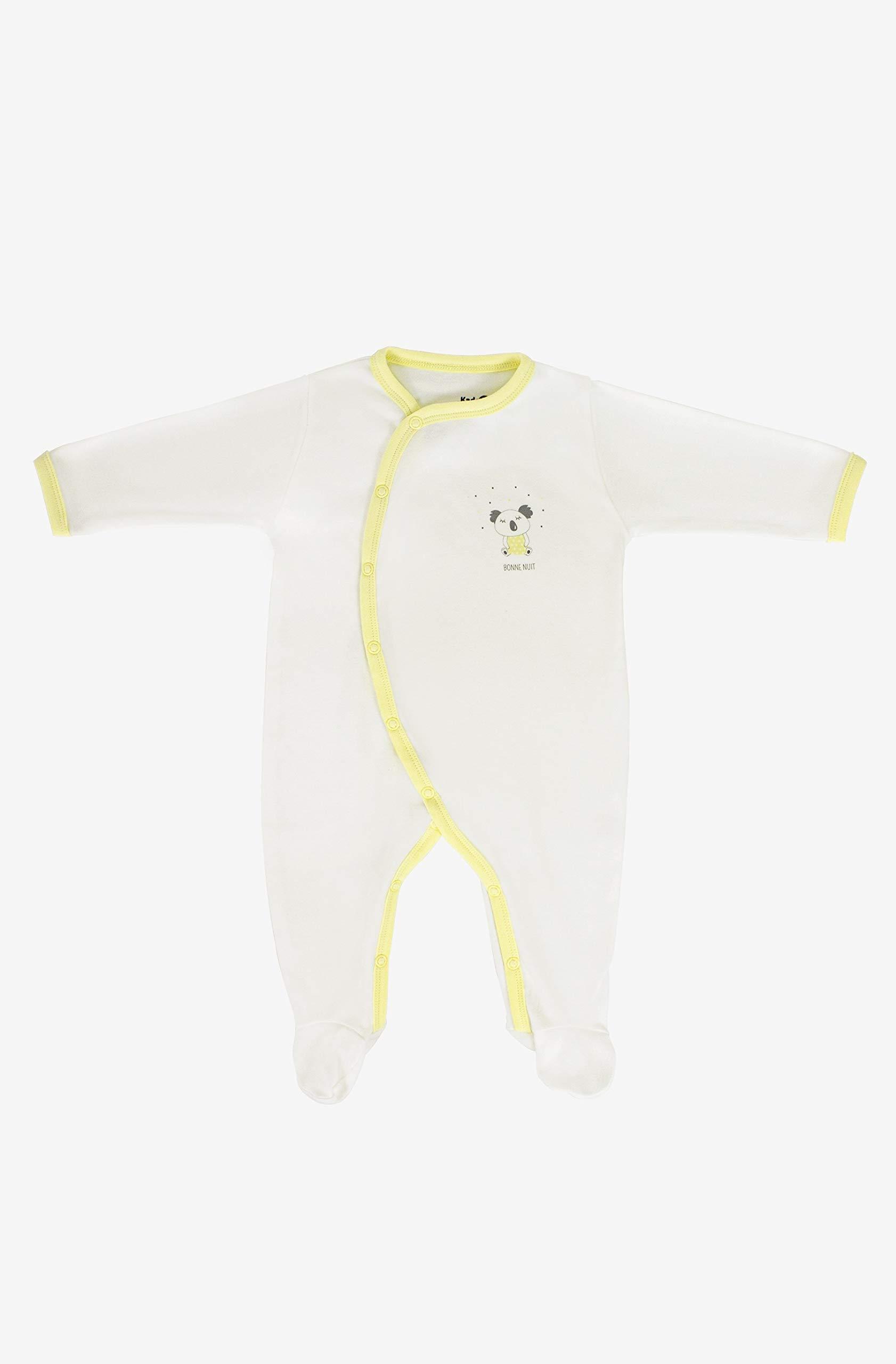 Kadolis Pijama de Verano en Jersey de algodón orgánico con Estampados de Koala 1 Mes: Amazon.es: Hogar