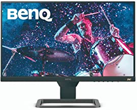 "BenQ EW2480 23.8"" Eye-Care, Entertainment and Gaming Monitor, HDR, IPS, 3-Side Bezeless, FreeSync, 75Hz, Brightness Intell..."