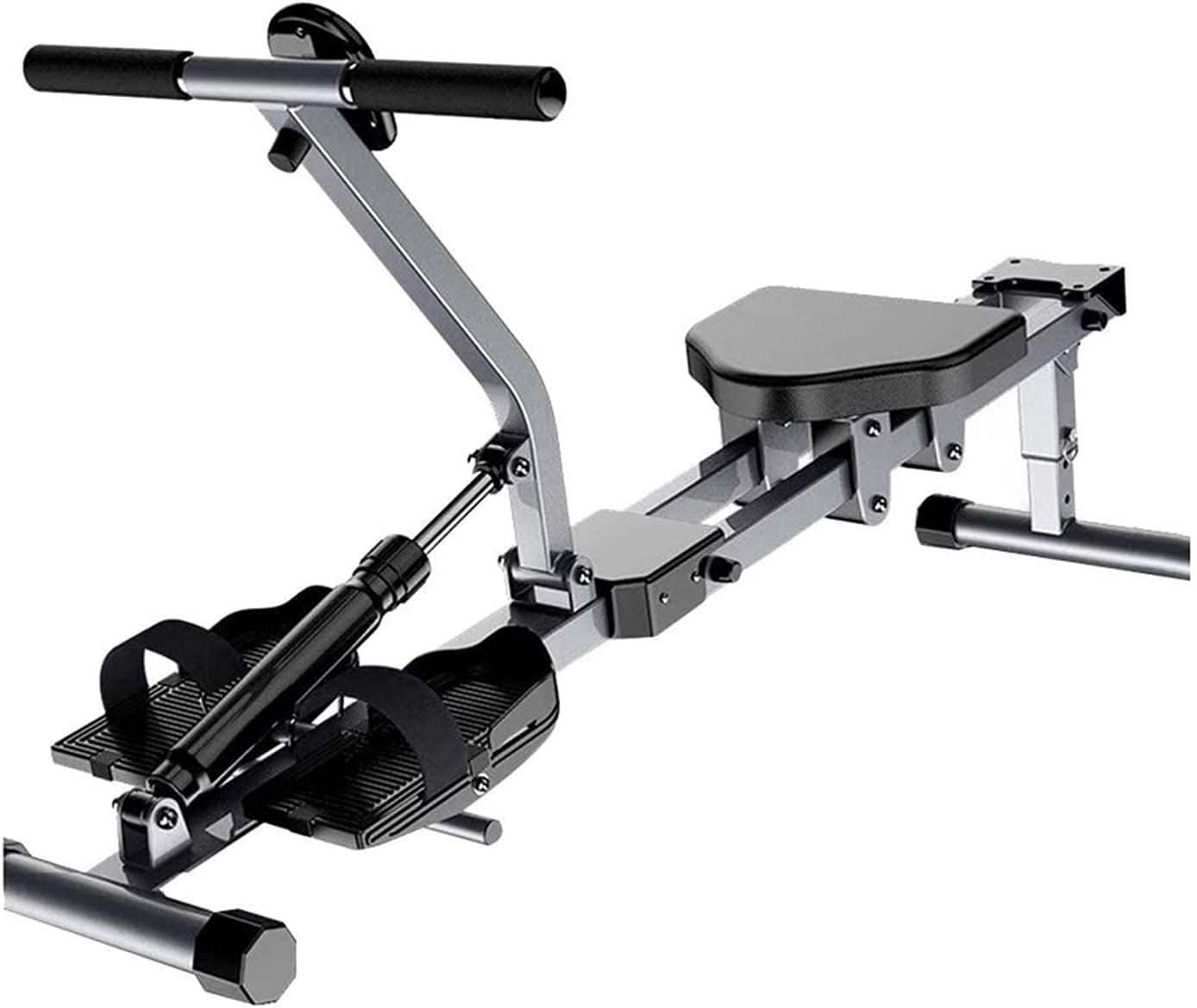 Rowing Machine Rower for Home Use Hydraulic Water Wind Resistanc