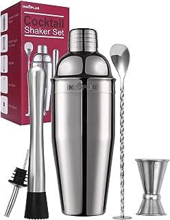 Cocktail Shaker, Cocktail Shaker Set, Martini Shaker, Drink Shaker, Bartender Kit 25 oz Margarita Drink Mixer Christmas Gi...