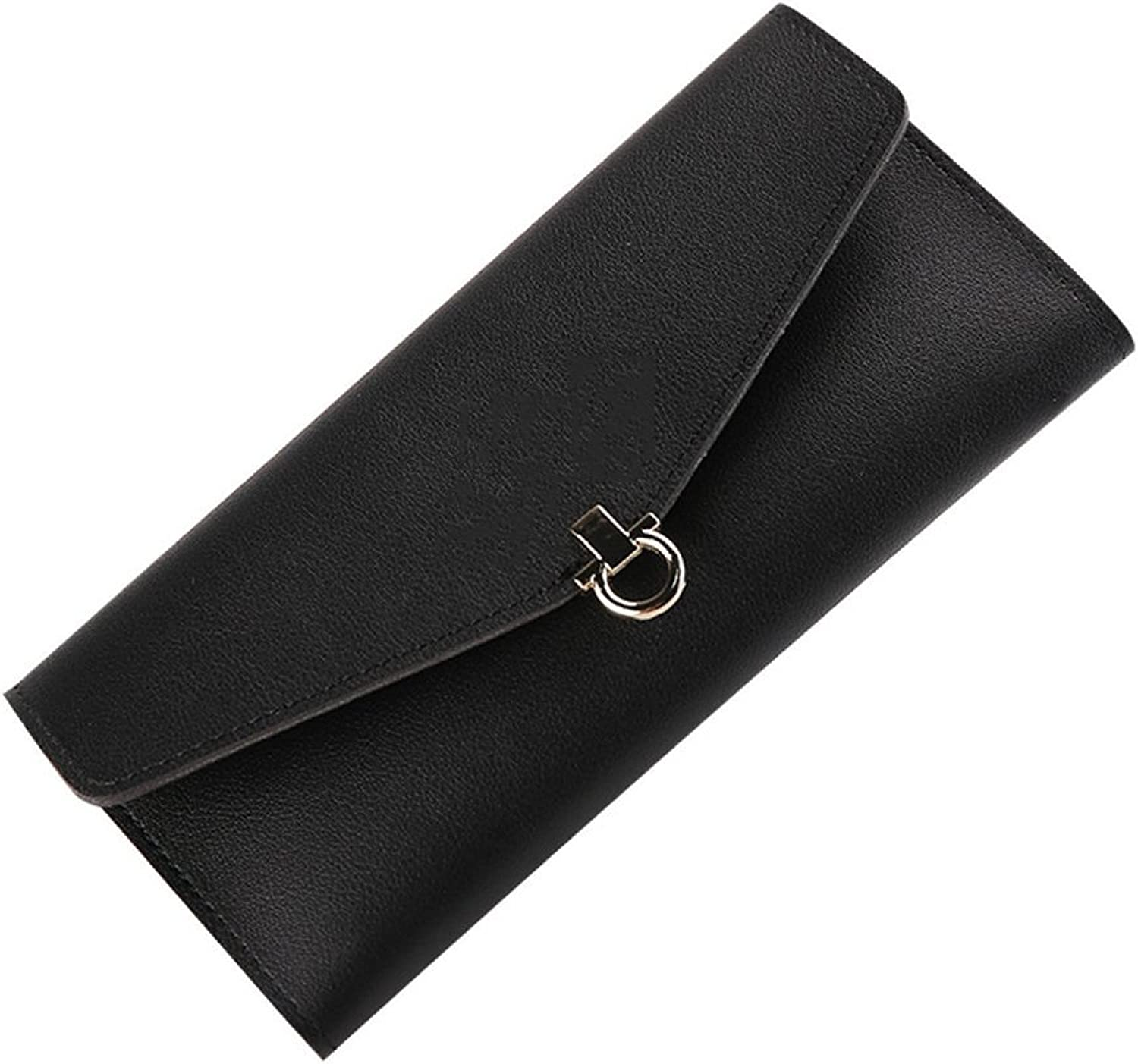 Ms. Wallet by ZAIYI The New Cute Long Wallet Lady Three Percent Off Wallet Simple Fashion HighCapacity Wallet,C