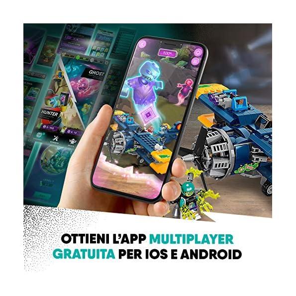 LEGO-Hidden-Side-lAereo-Acrobatico-di-El-Fuego-Dai-la-Caccia-ai-Fantasmi-Nella-Realt-Aumentata-in-Modalit-Single-o-Multiplayer-Multicolore-70429