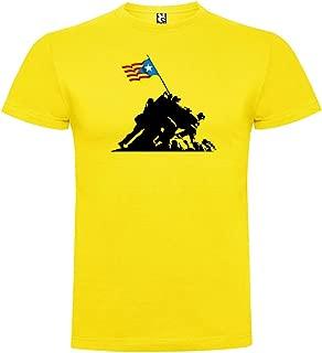 Camiseta Catalunya Iwo Jima Independent Manga Corta Hombre