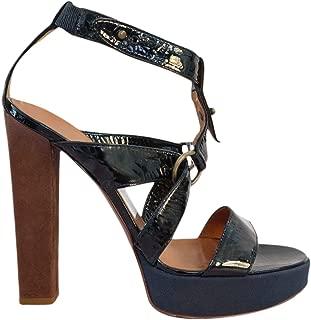 Patent Leather Platform Heels