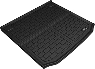 3D MAXpider M1BM0931309 Black BMW X3 2018 Kagu Cargo Liner Cross Fold (With Cargo Tie Down Rails), 1 Pack