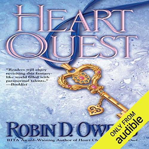 Heart Quest audiobook cover art