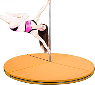 "Portable Fitness Exercise Professional Dance Yoga Spinning Pole 47/"" Crash Mat"
