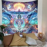 Psychedelic Tapestry Wall Hanging, Fatima...