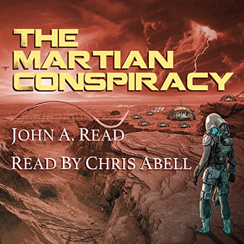 The Martian Conspiracy audiobook cover art