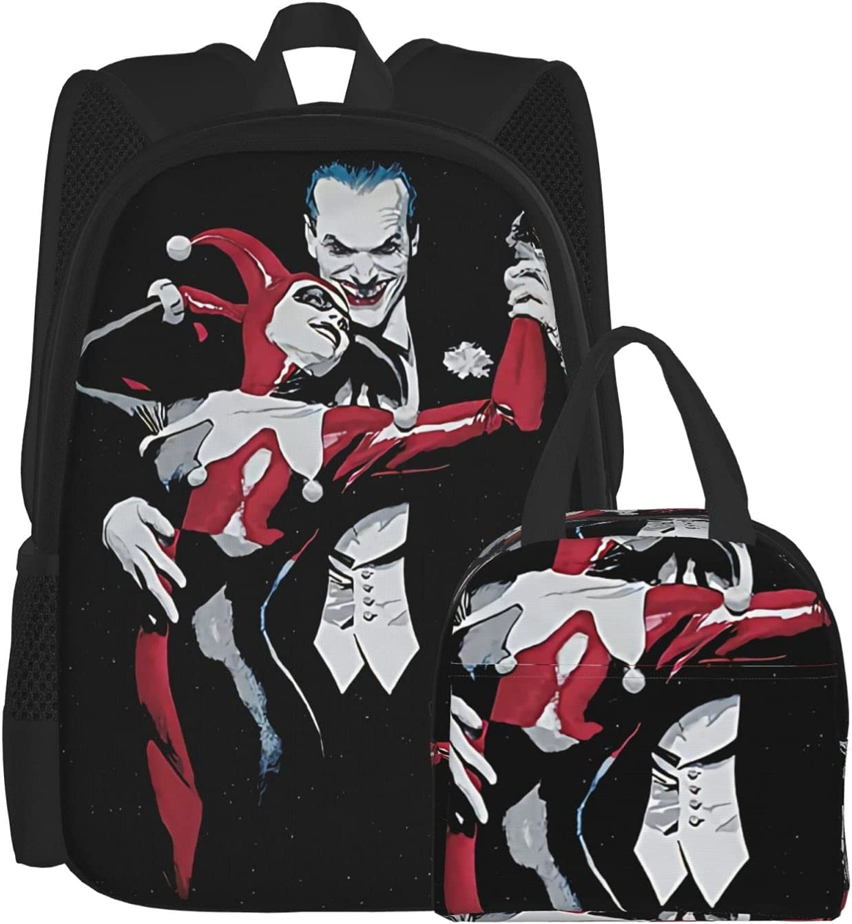 The Joker All stores are sold Bunch Max 65% OFF Boys Girl Child 3d School Teenager Lunch Bag