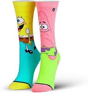para mujer, Nickelodeon, dibujos animados de los 90, calcetines de la tripulación, novedoso divertido tonto fresco