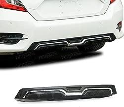 PULIps HDCV164MDURAD - Modulo Style Rear Bumper Diffuser Spoiler For Honda Civic Sedan 2016+ UP