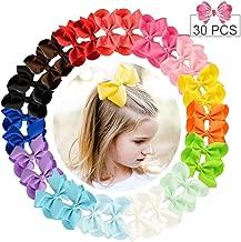 30pcs Hair Bows for Girls 4